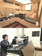 通訳装置や音響機器のオペレーター ★年間休日110日1