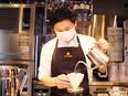 新ブランドカフェの店舗運営スタッフ ★新規事業のメンバー募集!年間休日119日!2