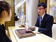 高級腕時計の販売スタッフ◎月9日休み/ノルマなし/昨年賞与平均3.8ヶ月分&決算賞与5.9ヶ月分2