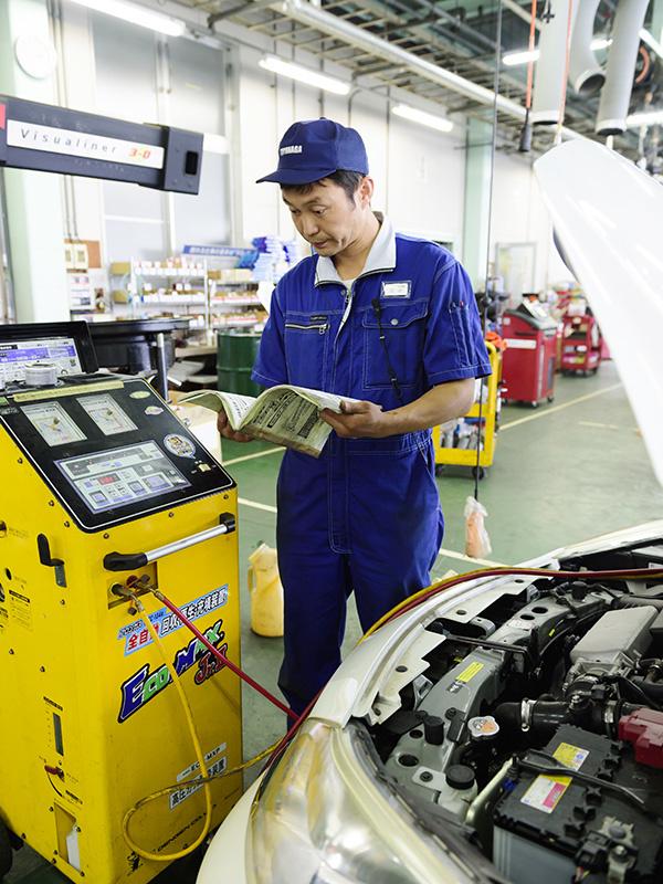 自動車整備士 ★賞与4.7ヶ月分+業績賞与2.1ヶ月分(昨年度平均実績)/平均勤続年数13年以上イメージ1