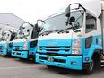 配送ドライバー ★2・4・10tトラックを運転★資格取得支援あり★日勤のみ、夜勤のみもOK3