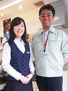 提案営業 ◎CMでおなじみの大阪ガスサービスショップ!イメージ1