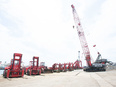 港湾の重機オペレーター(輸出用の鉄屑を船舶に積み込む仕事)◎重機免許・経験不問3