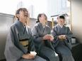 日本料理店の接客スタッフ ★完全週休2日制/月給26万円スタート/毎年新店舗が誕生しています!★3