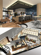 『cafe glitter』の店長◆完全週休2日制◆オープニングメンバー◆新商業施設の店舗1