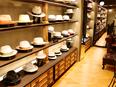 帽子屋「CA4LA」の販売スタッフ ◎服装自由◎有休取得率7割以上!◎残業月平均10h以内!3