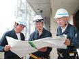 施工管理 ★デスクワークが6割|平均18時台には退社|年3回長期休暇あり|創業55年の安定企業3