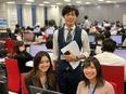 インサイドセールス ◎昇給年4回 ◎未経験歓迎 ◎東証・名証一部上場企業3