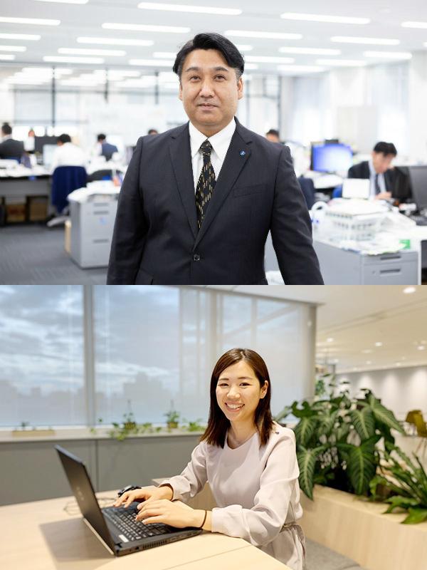 人材派遣の営業(物流業界を中心に、人と企業をつなぐお仕事です。)◎年間休日120日イメージ1