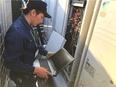 空調設備のサービスエンジニア ◎平均月収/2年目28万円⇒3年目37万円⇒4年目45万円3