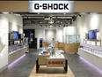 CASIO G-SHOCK販売スタッフ☆CASIO直営店勤務/賞与年2回/残業時間平均15時間程度3