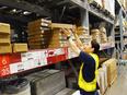 物流スタッフ ☆商品の荷下ろしや陳列、梱包、発送を担当/年間休日121日以上/残業ほぼナシ!2