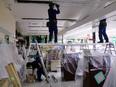 工事スタッフ ★ショッピングモールなどの空調、電気工事に携わります。3