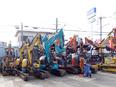 建設機械レンタルの営業 ◎業界トップクラス ◎取引社数は1万5000社以上 ◎創業から60年以上2