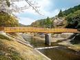 設計士 ◎遊歩道、橋梁、デッキなどを設計します/9割が内勤/月給33万円スタート2