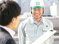 施工管理 ★経験者は前給(総収入)を保証します/ブランク歓迎/現場を見学してから配属!2