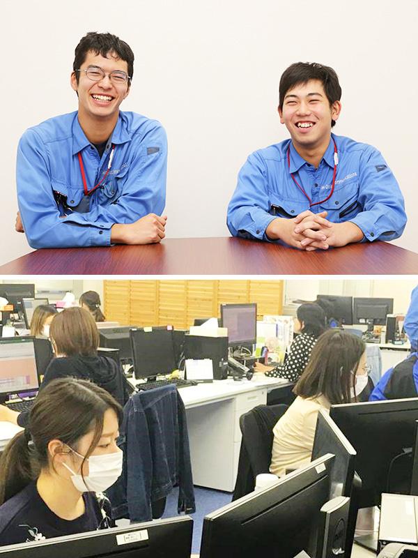 電気通信工事スタッフ★月々25万円以上/定着率90%以上/国家資格の取得サポートイメージ1