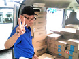 軽貨物ドライバー ★末締翌月10日払可/普通免許だけでOK!/車両レンタル可/研修手当、支給!3