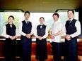 コンセプトホテルのレストランスタッフ★完全週休2日★賞与年2回★寮完備3