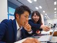 ソリューション営業 ◎いまも市場拡大し続けているビジネスに携わります。2