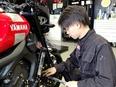 バイクの整備士 ◎残業月平均12時間 ◎バイク好き歓迎! ◎福利厚生充実2