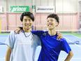 テニスのインストラクター ★未経験からでも管理職へのキャリアアップを目指せます!2