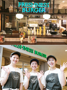 バーガーカフェスタッフ|東証一部上場グループ ♪アーリーアメリカ調なら、お店作りは自由(BGM等)♪1