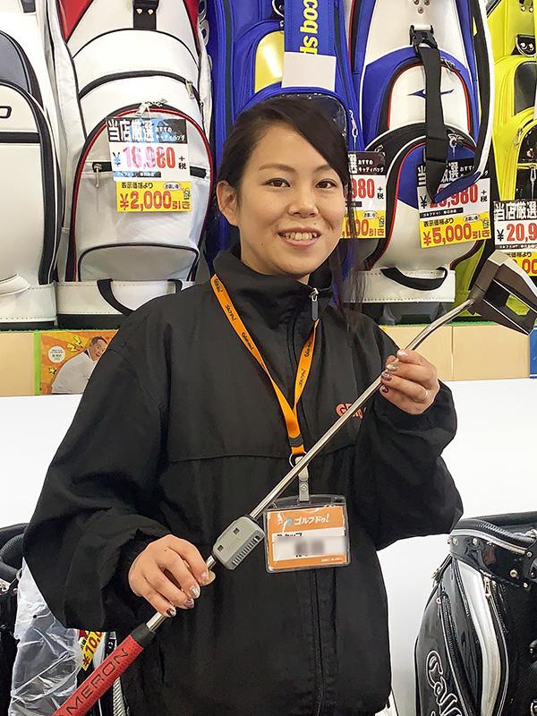 ゴルフショップの販売スタッフ ★年間休日105日!店舗の異動ナシ。フラットな人間関係が魅力です!イメージ1