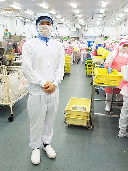 食品工場の製造現場管理者(ローソンの弁当・パスタ等を製造)★月8~10日休み★教育体制も充実イメージ1