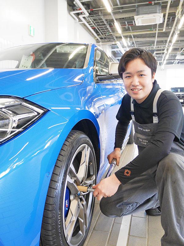 メカニック(BMW/MINI正規ディーラー)実務経験不問/BMW Group アカデミーでスキルUPイメージ1