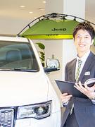 輸入車の営業(ジープ、プジョーなど)★年収500万円~1000万円も可能!1