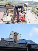 太陽光パネルの設置スタッフ ◎毎週日曜休み/未経験者歓迎/住宅・家族手当など福利厚生充実!1
