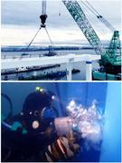 技術スタッフ(港や桟橋の建設やメンテナンスなど水中工事を担います)◎資格取得支援制度あり1