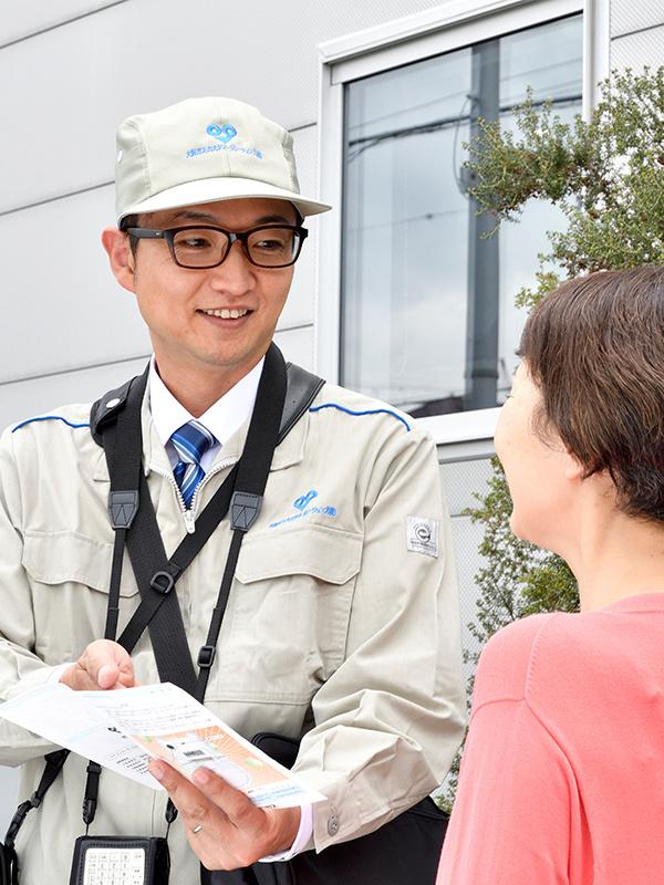 サービススタッフ ◎年間休日122日/正社員登用制度ありイメージ1