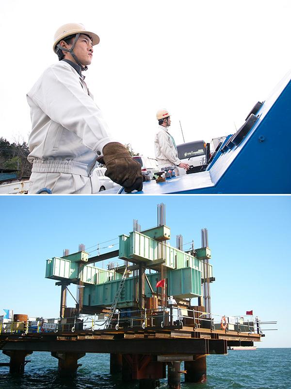 地盤調査員(建設物の土台の安全性を守る仕事)年間休日126日イメージ1