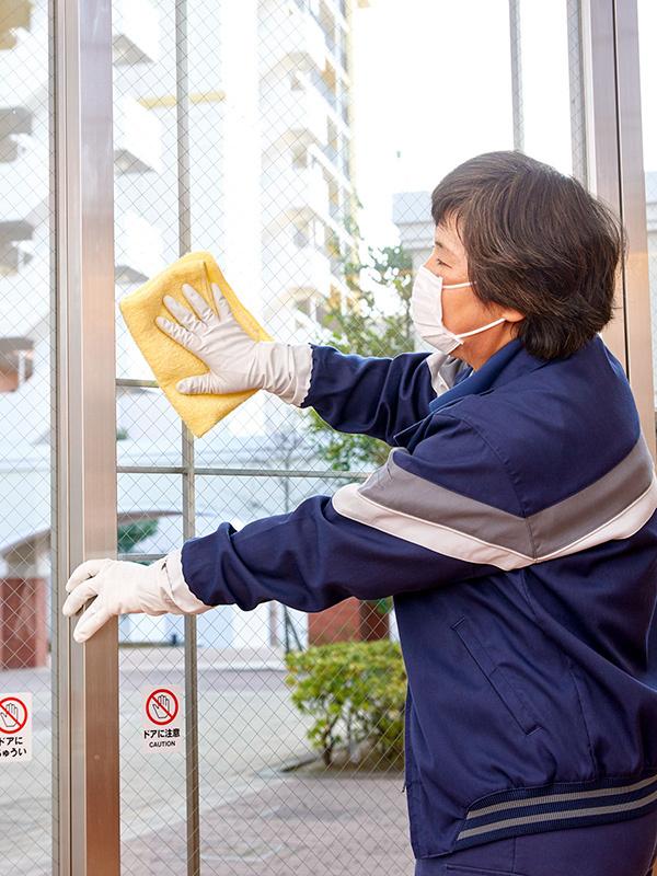 清掃管理スタッフ <京成グループ 年間休日120日以上 船橋市高根台の総合病院での専属勤務>イメージ1