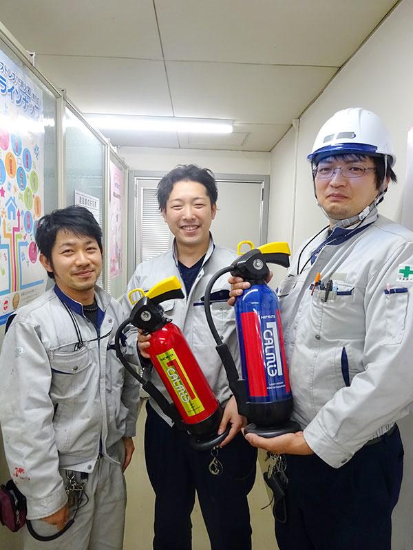 消防・建築設備のメンテナンススタッフイメージ1