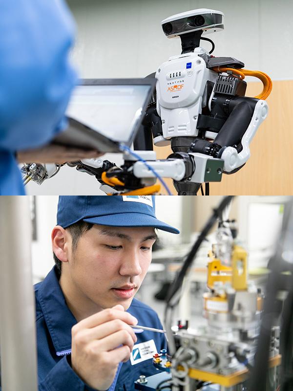 [未経験歓迎]ロボットのサポートエンジニア★働きながら国家資格を取得/年間休日最大160日!イメージ1