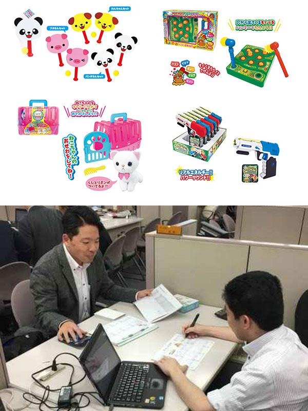 子ども向けおもちゃのルート営業│有名キャラクターを使ったアイテムが多数!イメージ1