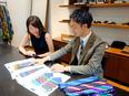 ネクタイの企画営業 ◎アパレル業界での経験を活かし、キャリアップ可能2