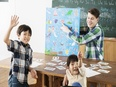 オールイングリッシュの学童保育『明光キッズe』の教室長 ◎住宅手当あり/英会話スキル習得も可能!2
