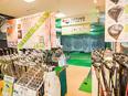 ゴルフショップの販売スタッフ ◎未経験歓迎 ◎ゴルフクラブのフィッティングなどを担当!2