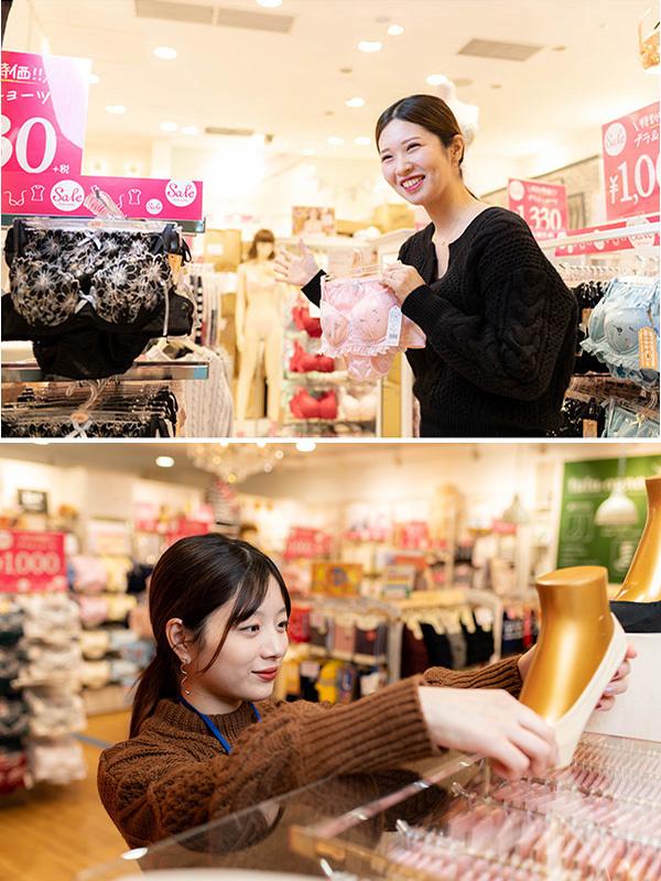 『tutuanna』の店舗スタッフ(正社員)◎未経験の方でも1~2年で店長を目指せます!イメージ1