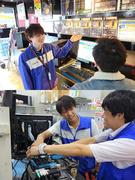 パソコン修理サポートスタッフ ★PC好きな人の天職です。 ★新規出店計画多数あり。1