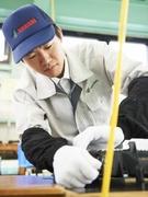 工場内で働く作業スタッフ(未経験歓迎/家具つき社宅完備/月給32万円以上の高収入/正社員での採用)1
