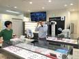 メガネの販売スタッフ<両眼視機能検査や接客を担当> ★未経験歓迎 銀座店リニューアルオープン予定!3