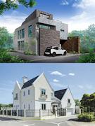 高級注文住宅の施工管理│手掛けるのは、モダンな住宅。本場ヨーロッパのデザインを形に。1