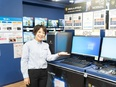 PC専門店『ドスパラ』の店舗スタッフ(店長候補)◆月給35万円~◆完週休2日◆SV昇格の道もあり!2