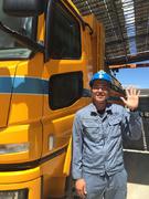土壌を運搬するドライバー◎完全週休2日/賞与実績3ヶ月分/有給の取得率81%/10名積極採用!1