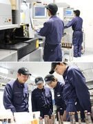金型製造スタッフ ◎トヨタ車の部品製造に欠かせない技術を習得/平均勤続年数14年/基本土日休み1